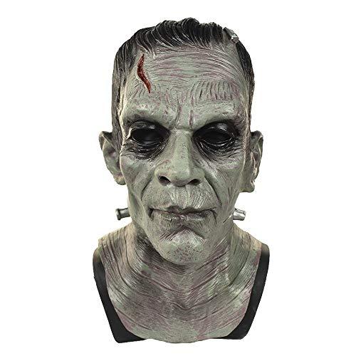 Deluxe Frankenstein Maske - Deluxe Frankenstein Monster Maske Latex Boris