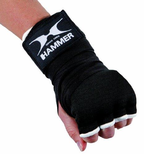 Hammer Box und Handbandage Elastic Fit, Schwarz, L-XL, 89225 -