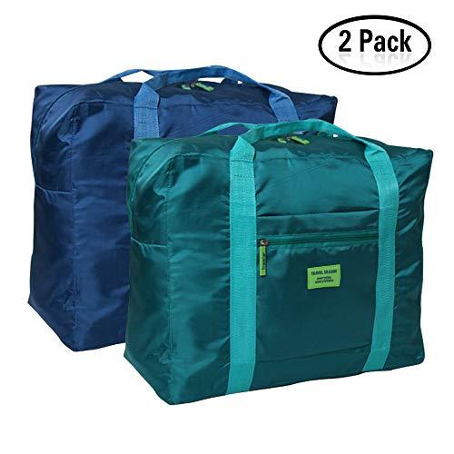 Faltbare Reise-Gepäck DRFLY Duffel Taschen Übernachtung Taschen/ Sporttasche für Reisen Sport Gym Urlaub(2er Pack) (Alle Tote Erinnerungen Meine)