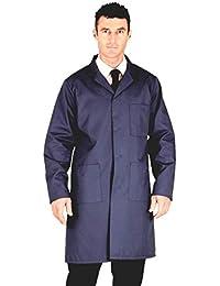 "Navy Warehouse Coat / Hygiene (Chest size - 42"" (108cm))"