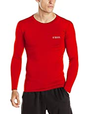 Compression Top Full Sleeve Athletic Fit Multi Sports Cricket Cycling, Football, Badminton, Gym, Fitness & Other Outdoor Inner Wear Compression Lycra Skin Inner Wear Full Sleeves