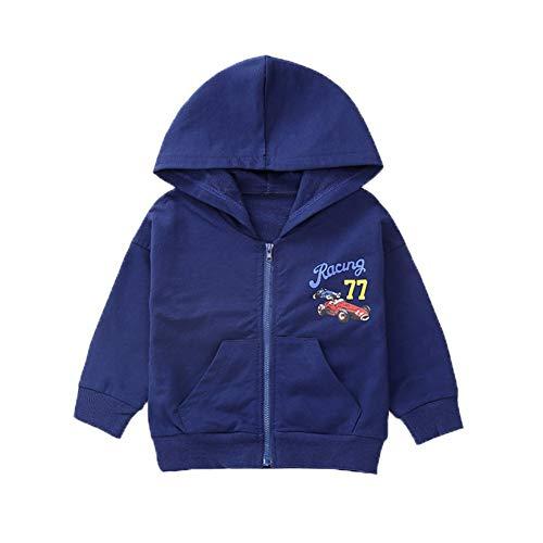 Shiningbaby Baby Mädchen Pullover Hoodie Rennwagen gedruckt Jacke Mode - Rennwagen Kostüm