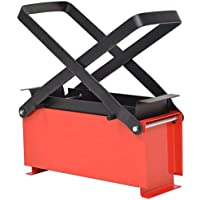 vidaXL Prensa Briquetas de Papel 34x14x14 cm Reciclaje Combustible Comprimido