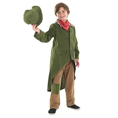 Boy Dickensian Kostüm - Fun Shack FNK2980XL Kostüm, Boys, Olive Twist, xl