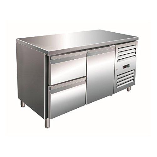 Kühltisch inkl. 2er Schubladenset Modell KYLJA 2110 TN