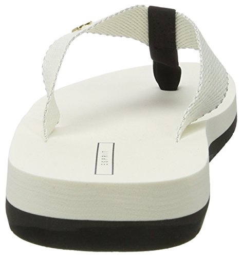 Esprit Neva Thongs, Tongs Femme Blanc (110 Off White)