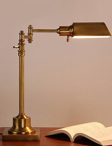 CJSHV-us - lampe, kontaktlinsen - schreibtisch, nachahmung kupfer - studie, schlafzimmer, lampe, hotel, led - lampe.