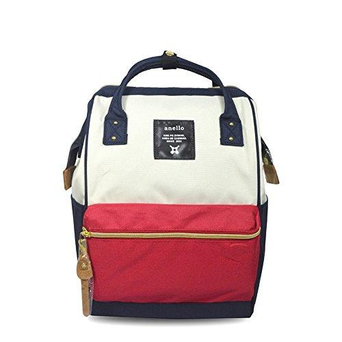 Anello Japan Rucksack, Unisex, Mini Small Mix-F, wasserdicht, Canvas, Campus-Tasche