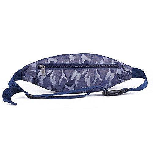 BUSL Wandern Hüfttaschen im Freien Frau männlichen Sports Musik-Handy-Paket läuft Anti-Diebstahl unsichtbare Taschen Einbeziehung a