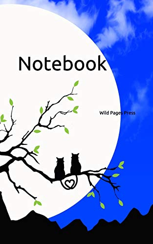 Notebook: silhouette clouds cat sky fantasy fairy tale tales cloud skies