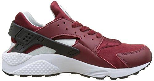 Nike 318429-603 Herren Turnschuhe Rot (Team Red/black/pure Platinum/white)