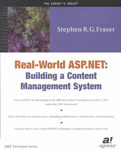 [(Real World ASP.NET : Building a Content Management System)] [By (author) Stephen R.G. Fraser] published on (July, 2002)