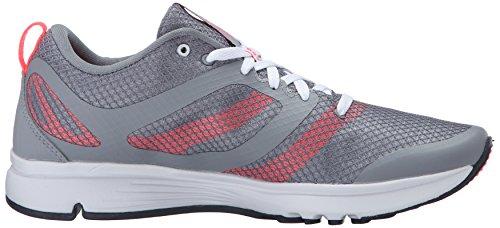 New Balance Women's 668 Training Shoe, Steel/Guava, 10 B US Steel/Guava