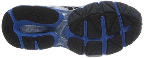 Mizuno  Wave Connect 2, Chaussures de course pour homme Directoire Blue/Silver/Orange Blanc (white/black/directoire Blue)