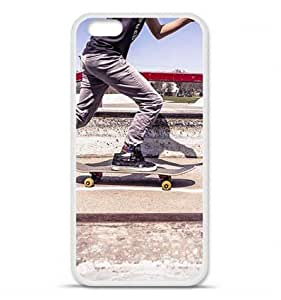 1001 Coques - Coque en silicone Apple iPhone 6 / 6S - Skate