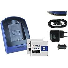 2 Baterìas + Cargador (USB/Coche/Corriente) NP-BN1 para Sony Cyber-shot DSC-TX.. W.. WX.. QX.. - ver lista