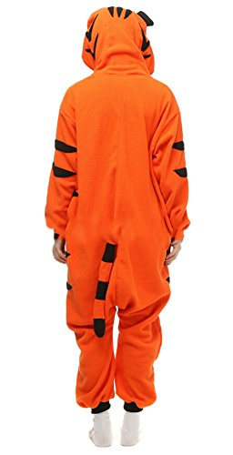 Imagen de dato ropa de dormir pijama tigre de bengala cosplay disfraz animal unisexo adulto alternativa