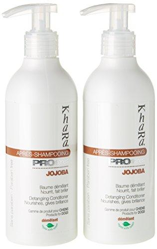khara-klarspuler-jojoba-shampoo-fur-hunde-250-ml-lot-de-2