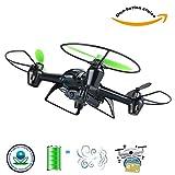 KY Drone avec Camera et ecran Quadricoptère télécommandé Drone 2.4G à 6 Axes sans Mode