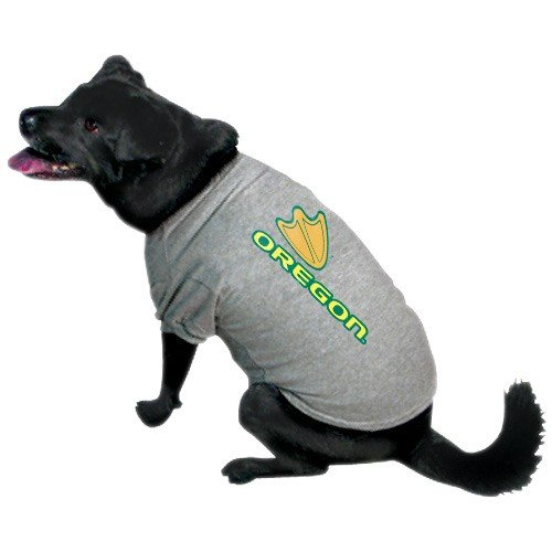 NCAA Oregon Ducks Pet T-Shirt, Team Color (Besten College Kostüme)