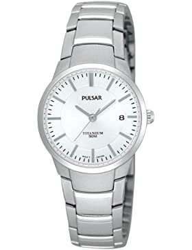 Pulsar Uhren Damen-Armbanduhr XS Modern Analog Titan PH7129X1