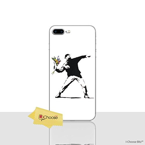 iPhone 7 Plus Banksy Silikonhülle / Gel Hülle für Apple iPhone 7 Plus (5.5