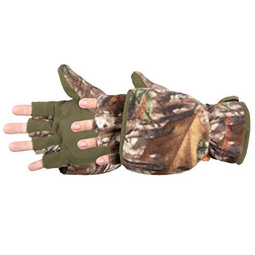 Manzella Women's Bowhunter Convertible Glove/Mitten, Realtree Xtra (Mdeium) by MANZELLA PRODUCTIONS INC Manzella Bowhunter Convertible Glove