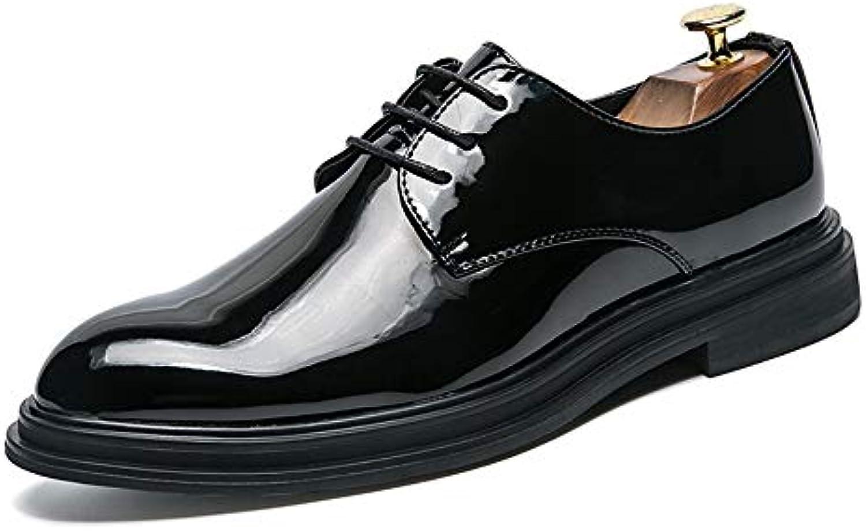 Xiaojuan-scarpe, Oxford da da da Uomo Casual Business Confortevole Classico Semplice Coloreee Puro Suola Scarpe in Pelle...   Elegante Nello Stile  a28206