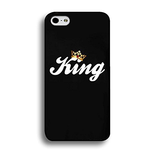 Couples Case for Iphone 7 Plus Lovely Stylish King Queen Phone Cases Fashion Hard PC Cover for Iphone 7 Plus Shell Color237d