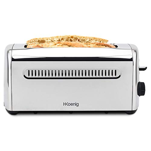 H.Koenig TOS32 Grille Pain Toaster Spécial Baguette 2 Tranches...