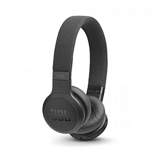 JBL LIVE 400BT - Casque audio supra-auriculaire sans fil - Écouteurs Bluetooth avec commande pour appels - avec Amazon Alexa intégré - Autonomie jusqu'à 24 heures - Noir