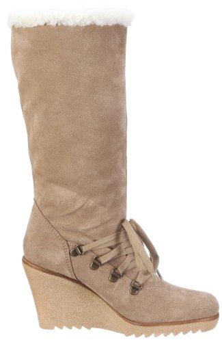 ESPRIT Kiwi Lu Boot X10430 Damen Stiefel Beige/Fossil Beige