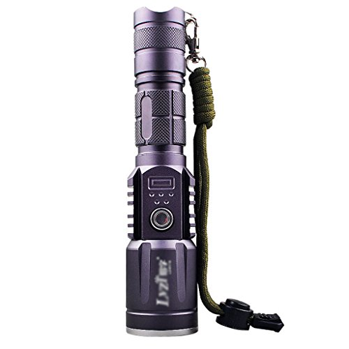 Led linterna USB recargable T6 Zoom Linterna Alta