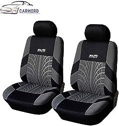 Front Autositzbezüge Universalsitzschutzinnenausstattung Waschbare Airbag kompatibel for Autos, SUVs und Trucks dsnmm