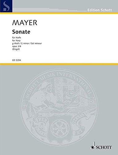 Sonate: op. 3/6. Harfe. (Edition Schott) -
