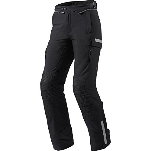Rev it Sable Mesdames Pantalon de moto noir - Noir