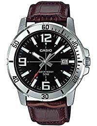 Casio Enticer Analog Black Dial Men's Watch - MTP-VD01L-1BVUDF (A1370)