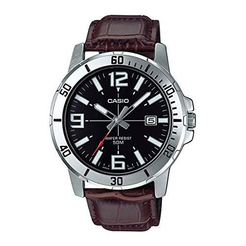 Casio Enticer Analog Black Dial Men's Watch - MTP-VD01L-1BVUDF (A1370)