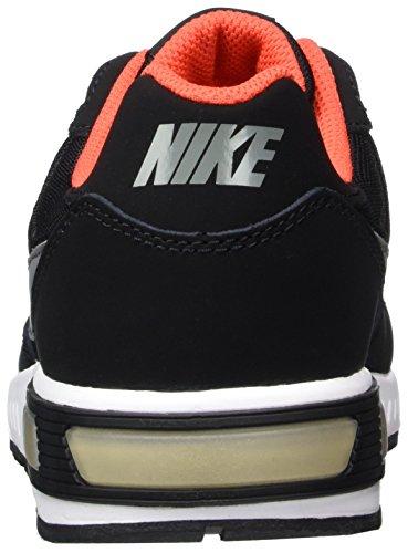 Nike Nightgazer (Gs), Chaussures de Tennis Garçon Noir (Black / Cool Grey / Max Orange / White)