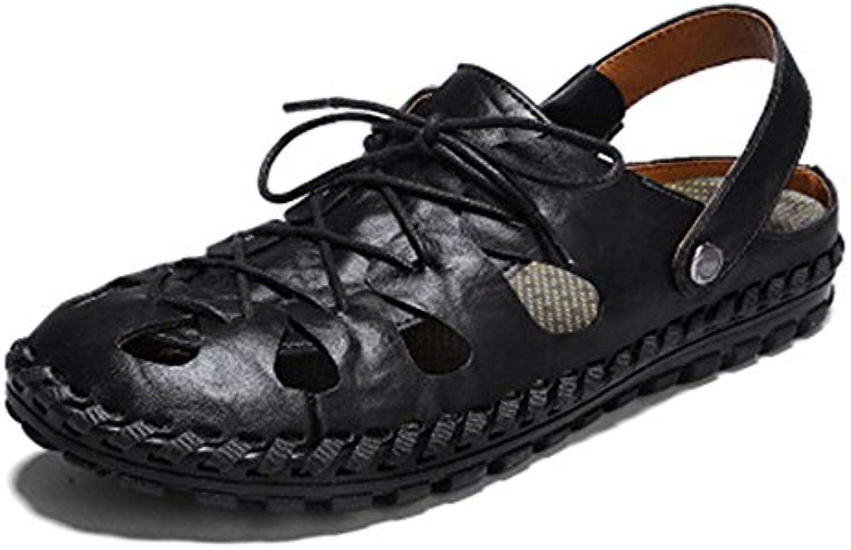 zmlsc Herren Freizeitschuhe Kleid Schuhe Frühling Herbst Schwarz Rot Spitze Schuhe Canvas Sport Sandalen Stiefel