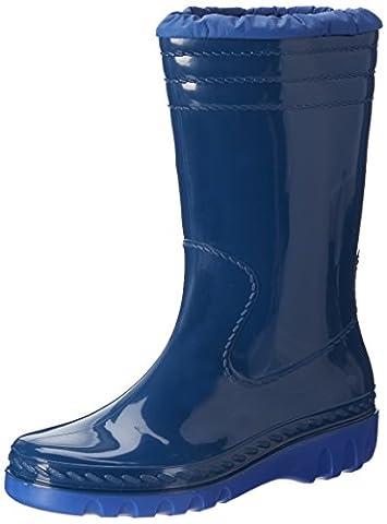 Romika Jupiter, Unisex-Kinder Halbschaft Gummistiefel, Blau (blau-pacific 561), 37 EU