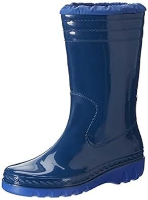 Romika Jupiter, Unisex-Kinder Halbschaft Gummistiefel, Blau (blau-pacific 561), 20 EU