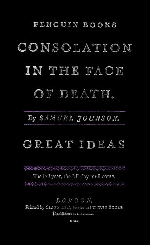 Consolation in the Face of Death (Penguin Great Ideas)