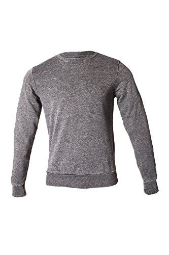 Generic Herren Sweatshirt Gr. XS, anthrazit (Burnout-raglan-t-shirt)
