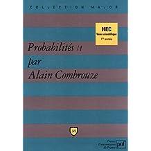 Probabilités, 1 : HEC voie scientifique