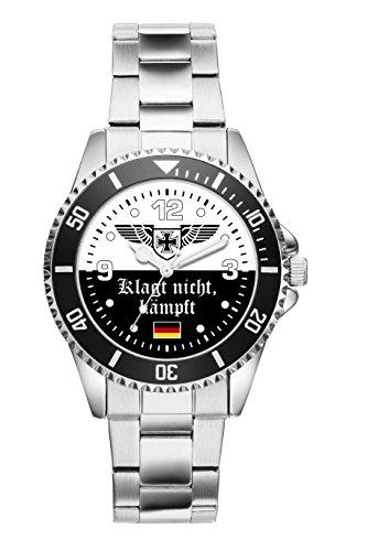 Soldat Geschenk Bundeswehr Artikel Klagt nicht Kämpft Damen Uhr D 2504