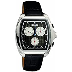 D&G DW0429 Gents 'Martin' Black Strap Chronograph Watch