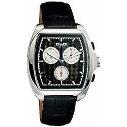 D&G DW0429 Gents 'Martin' Black Strap Chronograph Watch