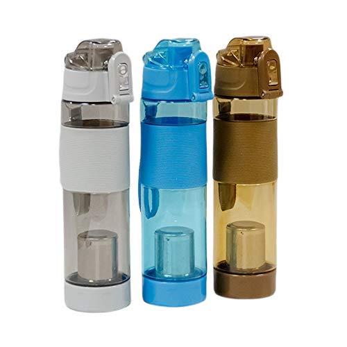 ARG HEALTH CARE Alkaline Water Bottle 650 ML BPA Free Alkaline Bottle Balance PH Level H2o Water Bottle For Weight Loss Energy Body Detox Alkaline Balls Mineral Water Improve Water Taste Power Of Hydrogen PH Water Bottle For Healthy Life