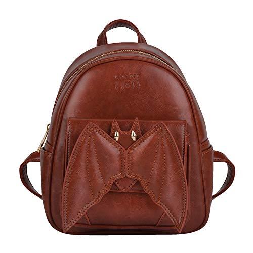 Mini Rucksack, COOFIT Gothic Rucksack Kleiner Rucksack Fledermaus Bat Rucksack für Mädchen Schultasche Casual Daypack Rucksäcke Schulrucksäcke ()